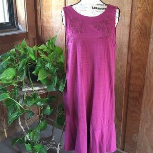 Fabulous Embroidered Knit LOFT Dress